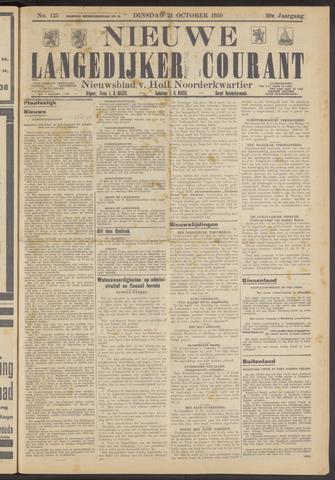 Nieuwe Langedijker Courant 1930-10-21