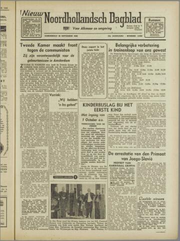 Nieuw Noordhollandsch Dagblad : voor Alkmaar en omgeving 1946-09-26