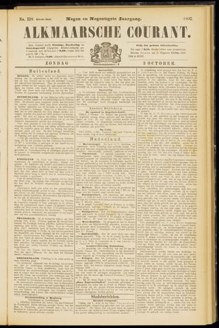 Alkmaarsche Courant 1897-10-03