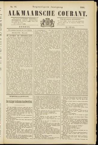 Alkmaarsche Courant 1888-07-15