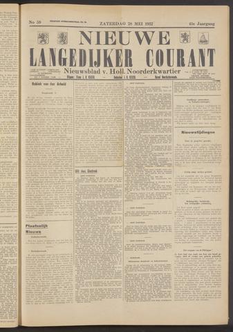 Nieuwe Langedijker Courant 1932-05-28