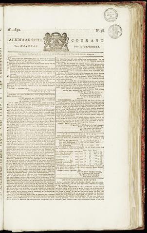 Alkmaarsche Courant 1832-09-17