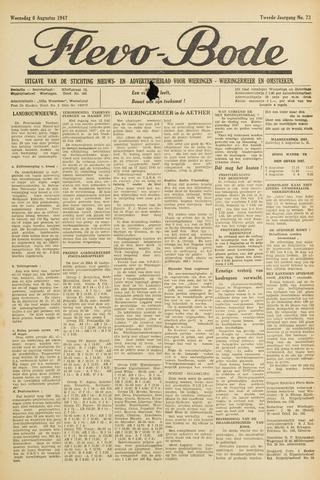 Flevo-bode: nieuwsblad voor Wieringen-Wieringermeer 1947-08-06