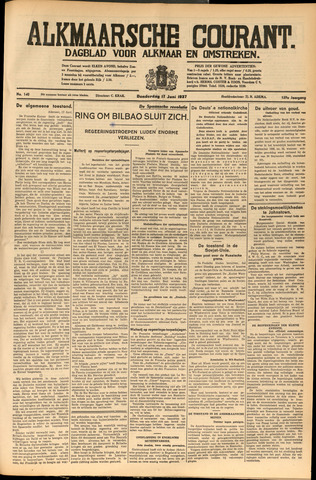 Alkmaarsche Courant 1937-06-17