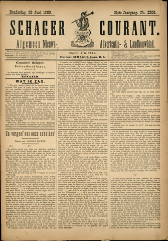 Schager Courant 1888-06-28