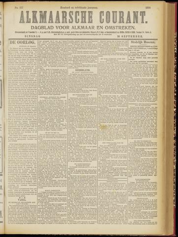 Alkmaarsche Courant 1916-09-26