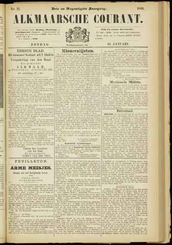 Alkmaarsche Courant 1891-01-25