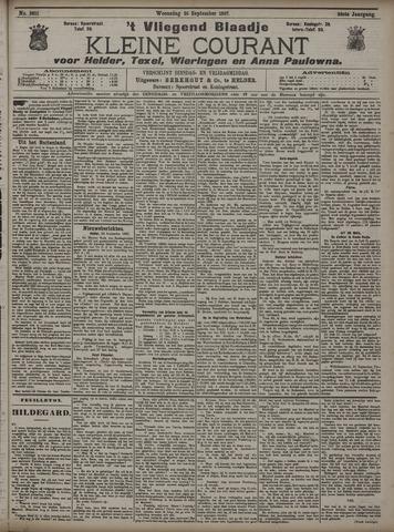 Vliegend blaadje : nieuws- en advertentiebode voor Den Helder 1907-09-25