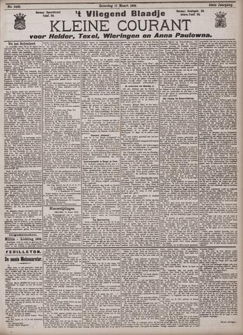 Vliegend blaadje : nieuws- en advertentiebode voor Den Helder 1906-03-17