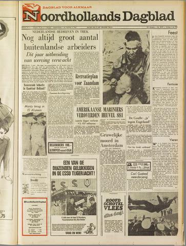 Noordhollands Dagblad : dagblad voor Alkmaar en omgeving 1967-05-05