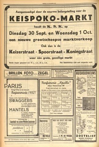 Heldersche Courant 1952-09-27