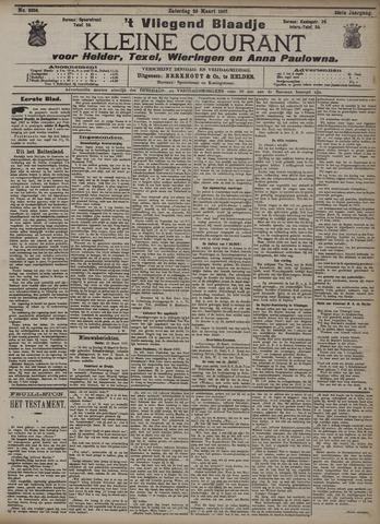 Vliegend blaadje : nieuws- en advertentiebode voor Den Helder 1907-03-23