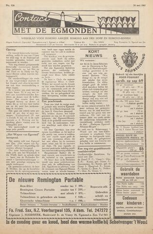 Contact met de Egmonden 1962-05-24