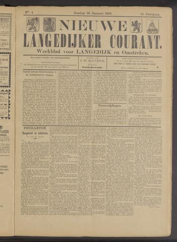 Nieuwe Langedijker Courant 1896-01-26
