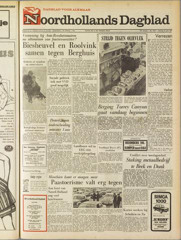 Noordhollands Dagblad : dagblad voor Alkmaar en omgeving 1967-03-25