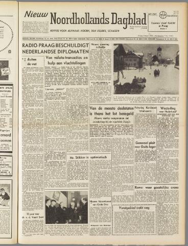 Nieuw Noordhollandsch Dagblad : voor Alkmaar en omgeving 1950-03-03