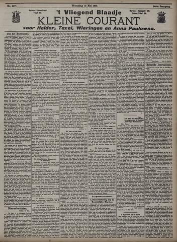 Vliegend blaadje : nieuws- en advertentiebode voor Den Helder 1908-05-13