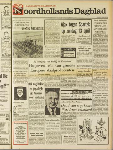 Noordhollands Dagblad : dagblad voor Alkmaar en omgeving 1969-03-22