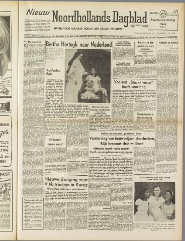 Nieuw Noordhollandsch Dagblad : voor Alkmaar en omgeving 1950-12-13