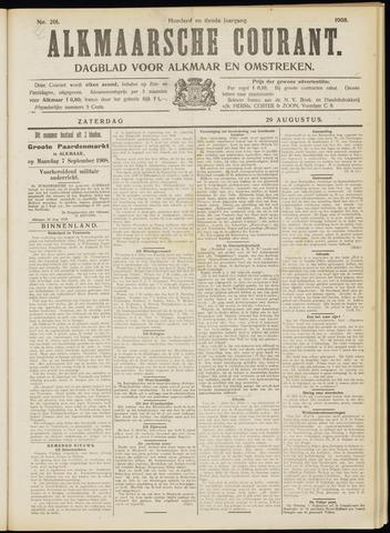 Alkmaarsche Courant 1908-08-29
