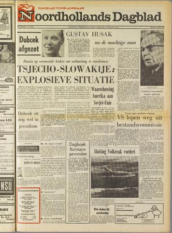 Noordhollands Dagblad : dagblad voor Alkmaar en omgeving 1969-04-18