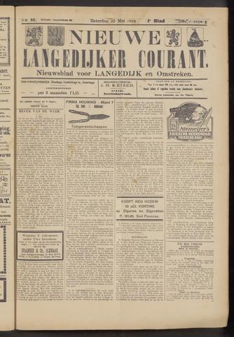 Nieuwe Langedijker Courant 1924-05-10