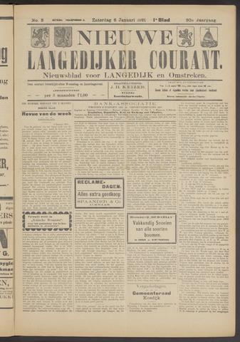 Nieuwe Langedijker Courant 1921-01-08