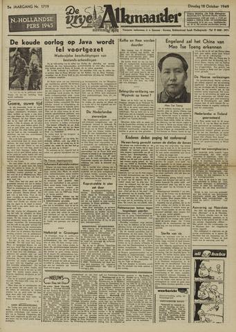 De Vrije Alkmaarder 1949-10-18