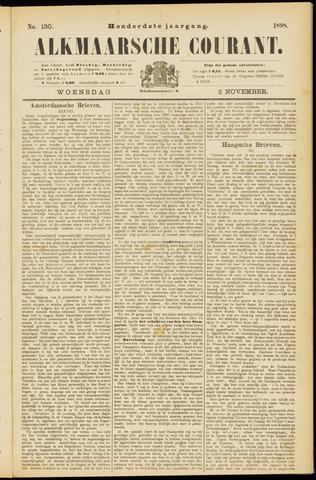 Alkmaarsche Courant 1898-11-02