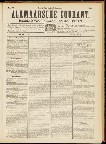 Alkmaarsche Courant 1911-03-27