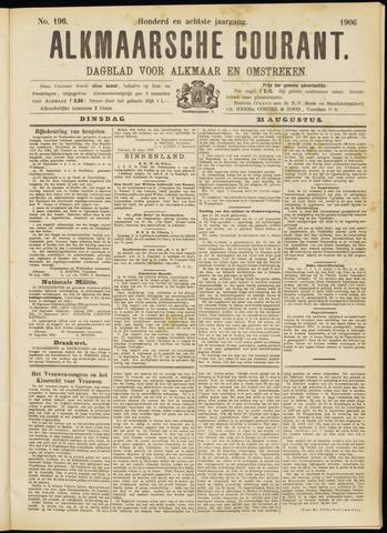 Alkmaarsche Courant 1906-08-21