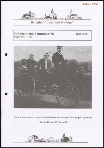 Informatieblad stichting Historisch Niedorp 2011-05-01