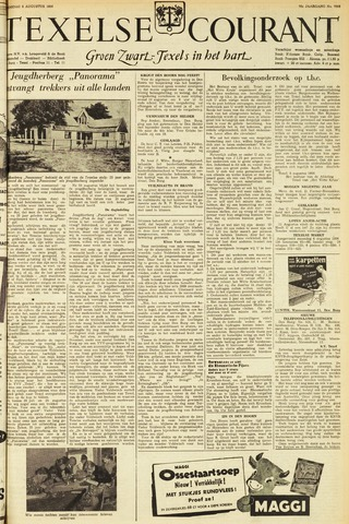 Texelsche Courant 1956-08-08
