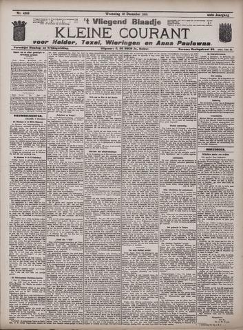 Vliegend blaadje : nieuws- en advertentiebode voor Den Helder 1913-12-10