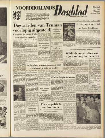 Noordhollands Dagblad : dagblad voor Alkmaar en omgeving 1953-11-13