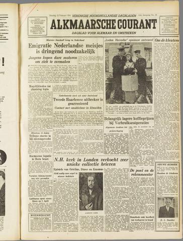 Alkmaarsche Courant 1955-02-15