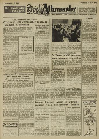 De Vrije Alkmaarder 1949-01-21
