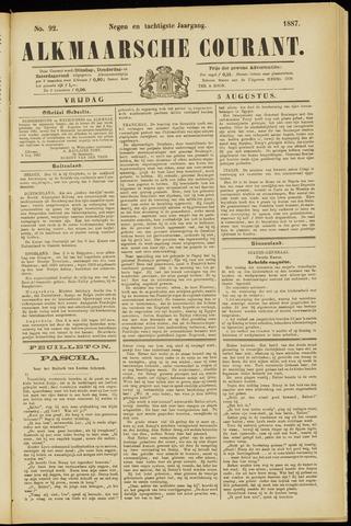 Alkmaarsche Courant 1887-08-05