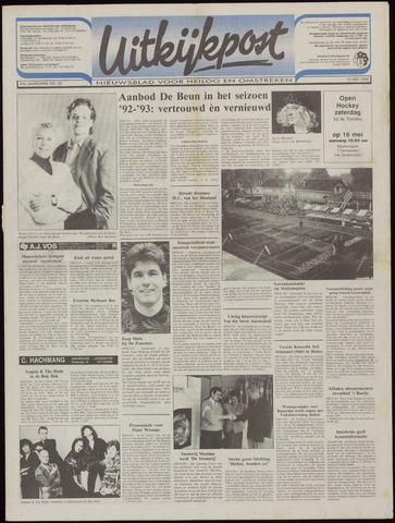 Uitkijkpost : nieuwsblad voor Heiloo e.o. 1992-05-13