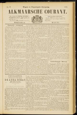 Alkmaarsche Courant 1897-06-30