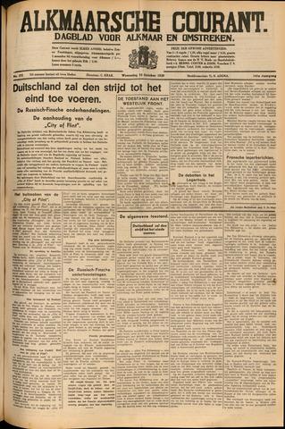 Alkmaarsche Courant 1939-10-25