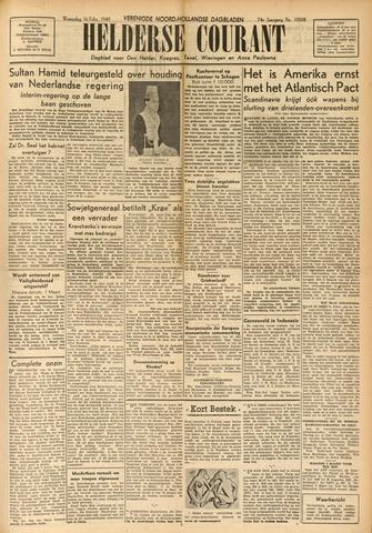 Heldersche Courant 1949-02-16