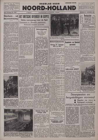 Dagblad Noord-Holland, Schager editie 1942-10-27