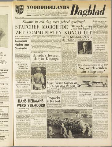 Noordhollands Dagblad : dagblad voor Alkmaar en omgeving 1960-09-15