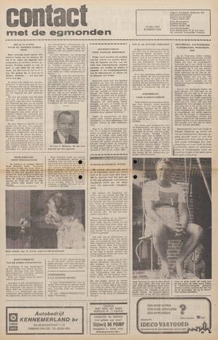 Contact met de Egmonden 1976-07-14