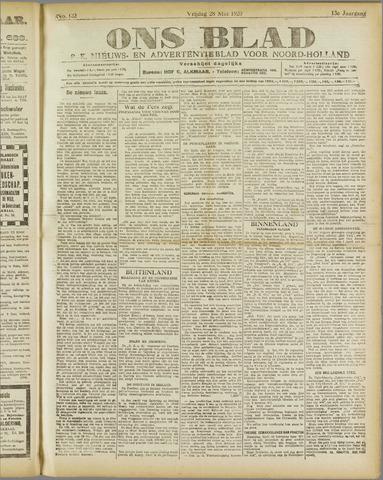 Ons Blad : katholiek nieuwsblad voor N-H 1920-05-28