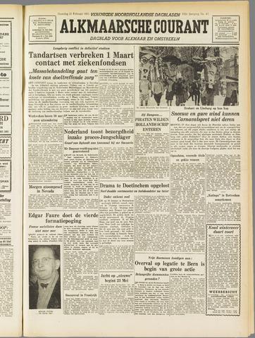 Alkmaarsche Courant 1955-02-21