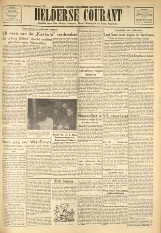 Heldersche Courant 1950-02-13