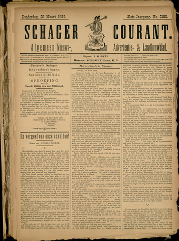 Schager Courant 1888-03-25