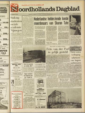Noordhollands Dagblad : dagblad voor Alkmaar en omgeving 1969-12-06